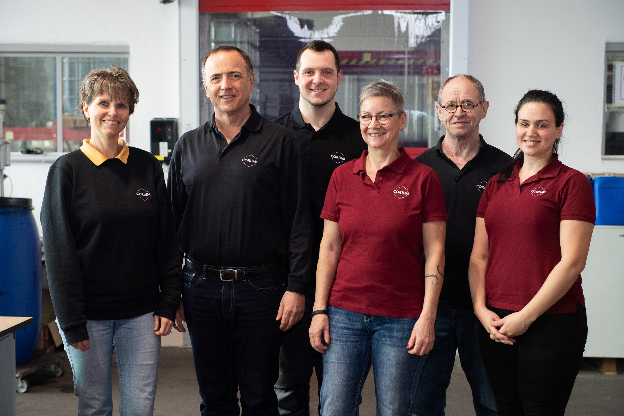 The Team of Corium Service